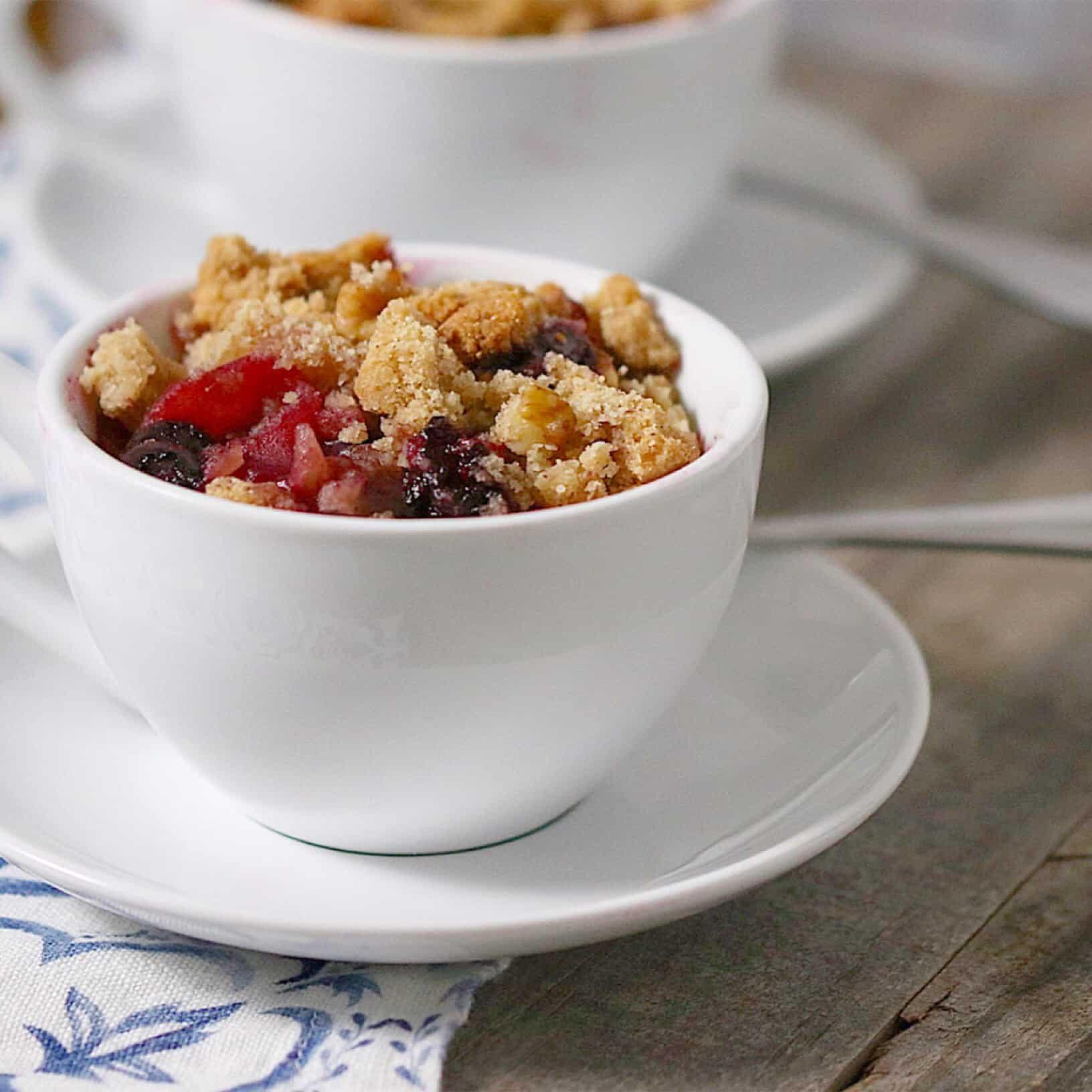 Vegan Grain-Free Cobbler Bowls