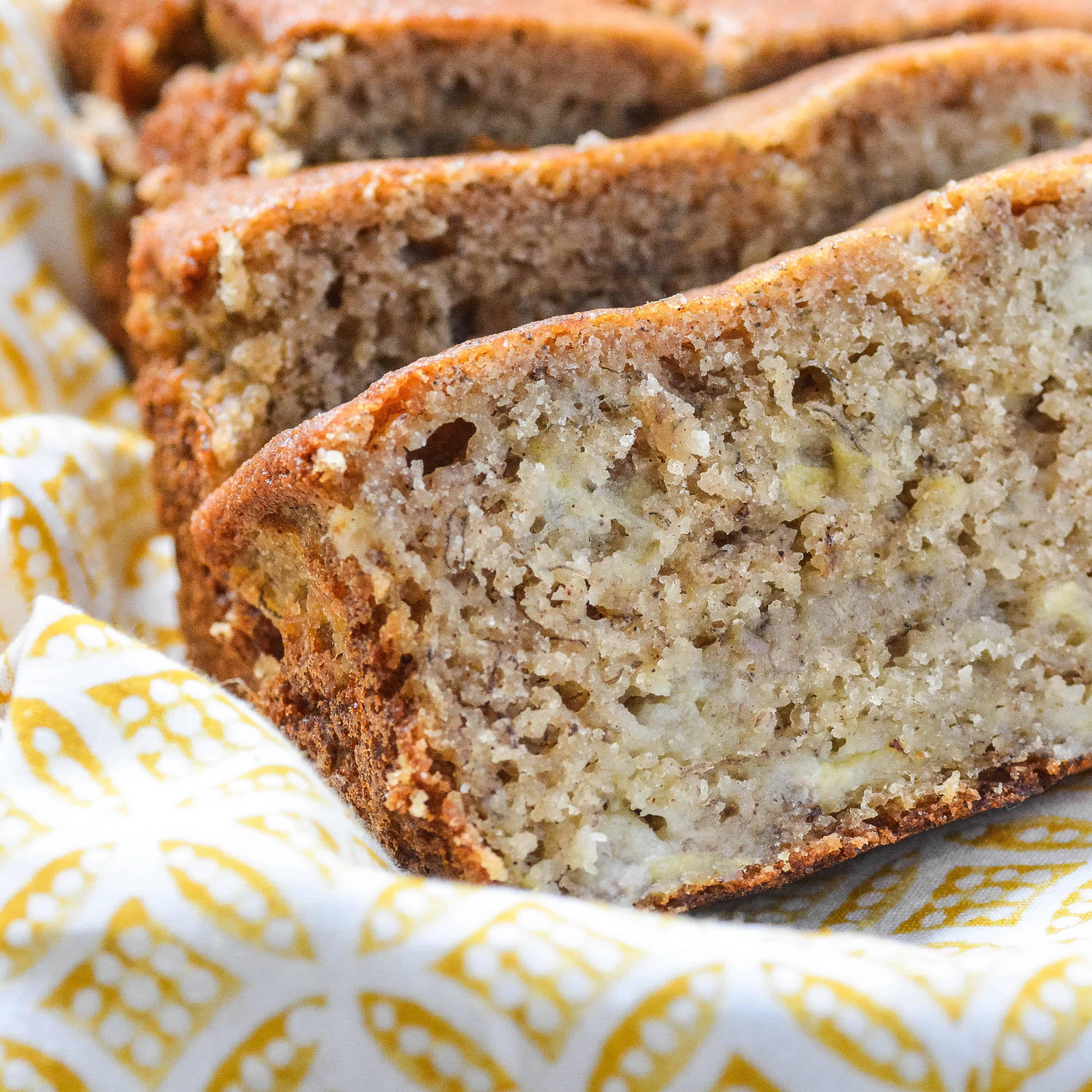 Delicious Grain-Free Banana Bread