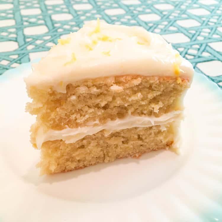 Grain-Free Lemon Chiffon Cake