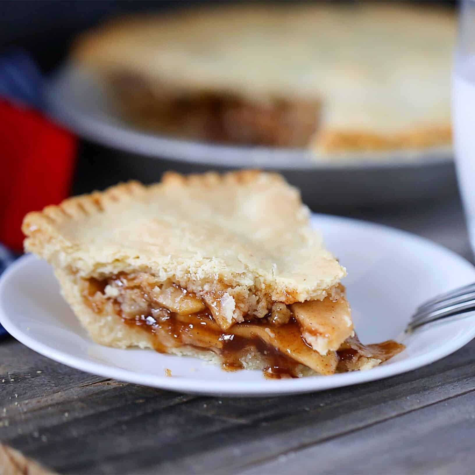 Paleo + Vegan Apple Pie