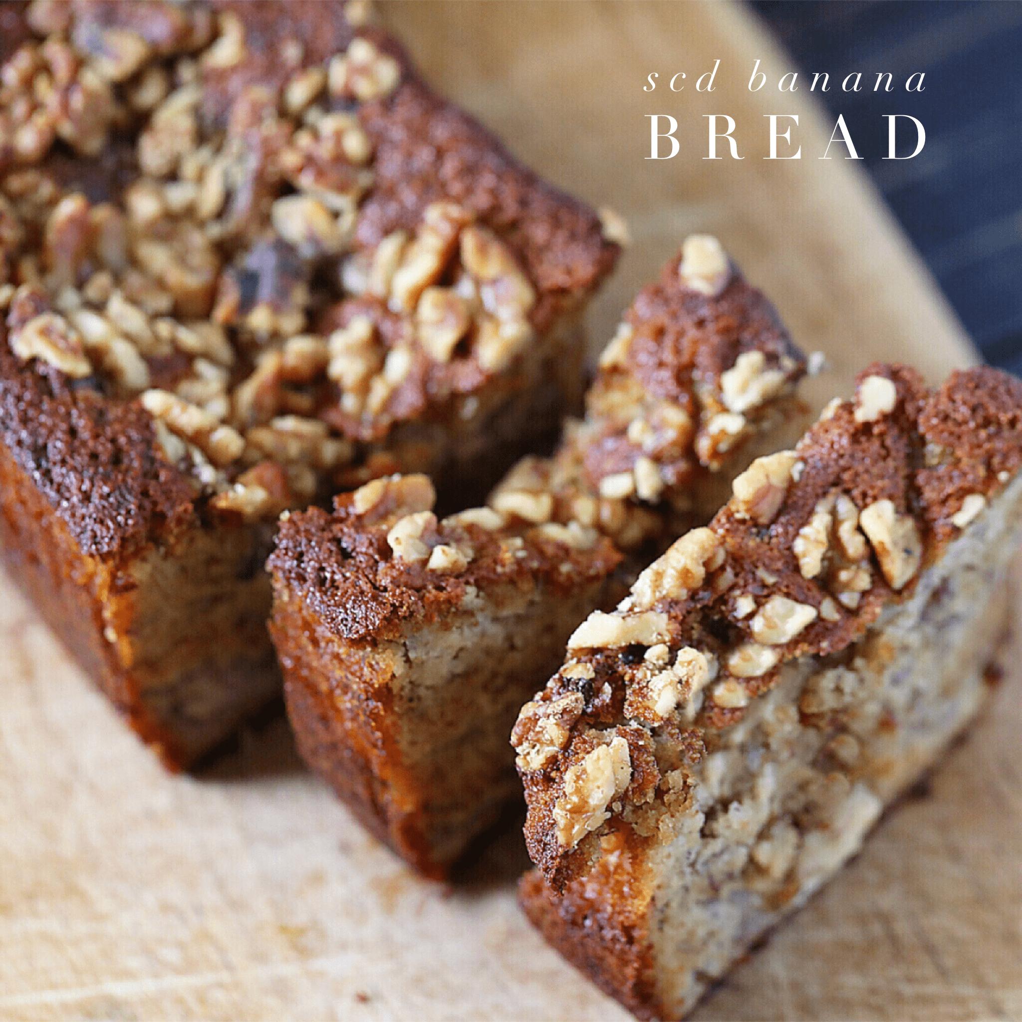 Delicious SCD Banana Bread / Muffins