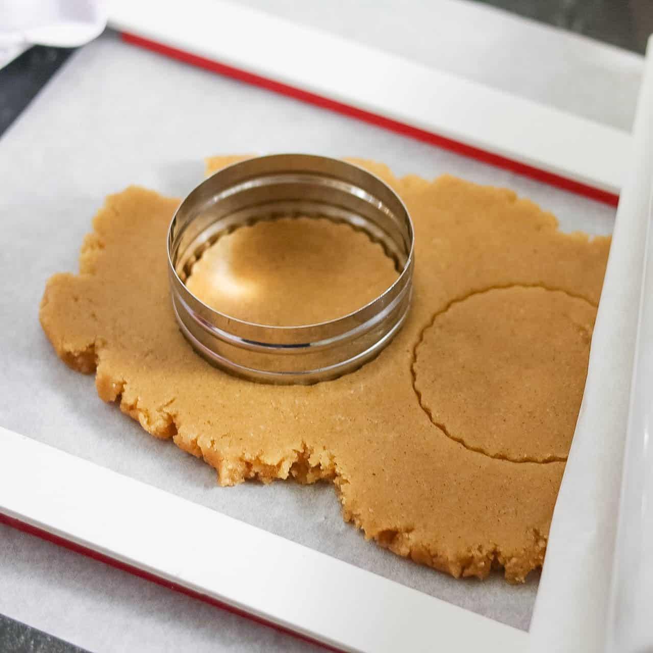 Iced Pumpkin Sugar Cookies (Vegan, Grain-Free)
