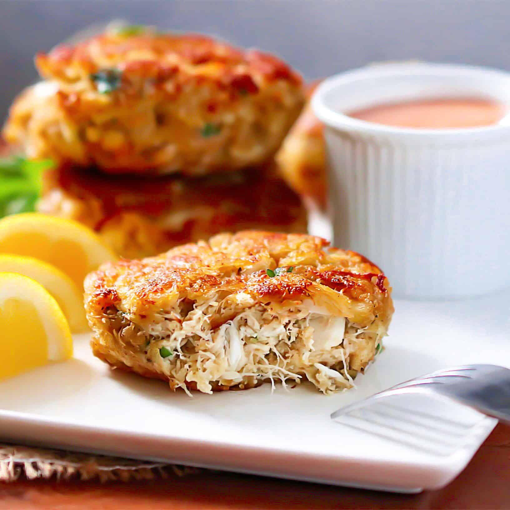 Grain-Free Crab Cakes