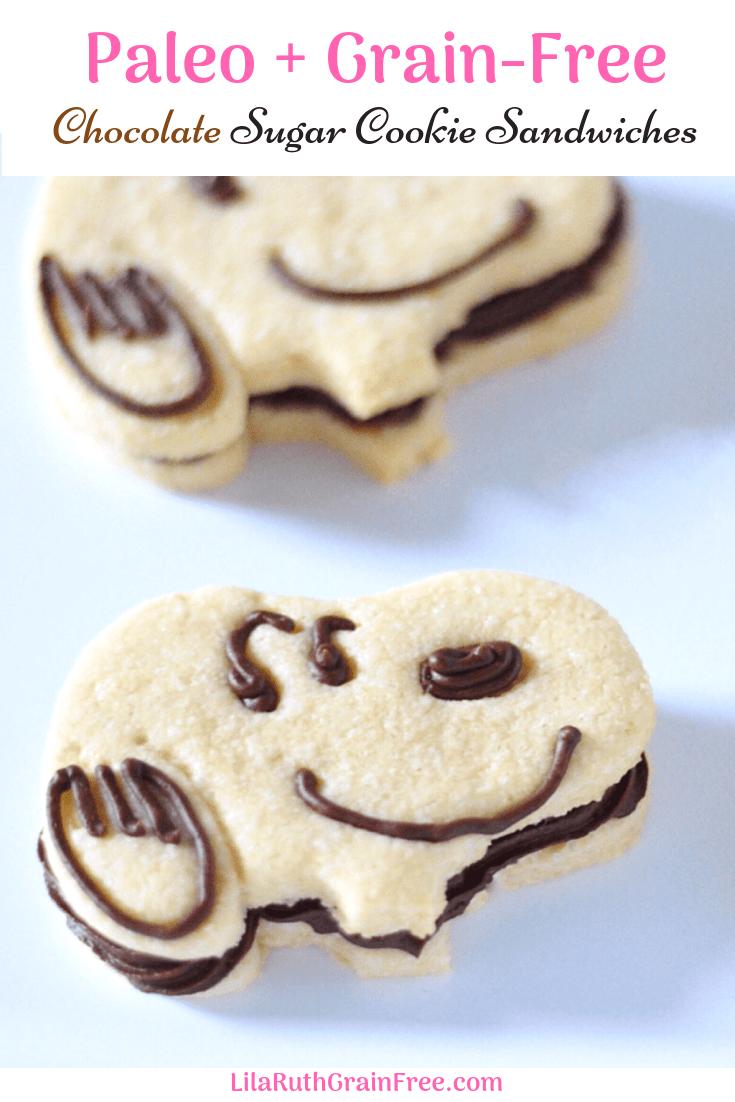 Paleo Sugar Cookie Sandwiches