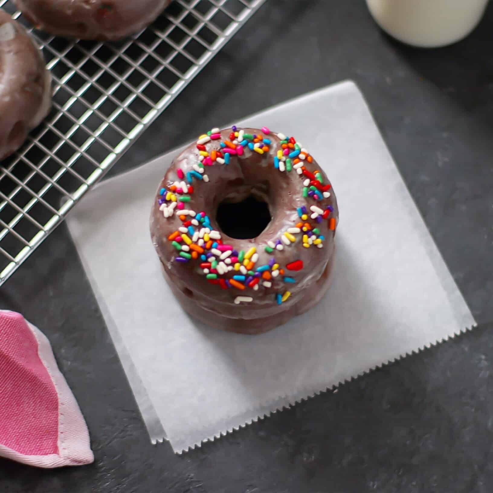 donut overhead