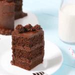 Paleo Mini Chocolate Bliss Cake