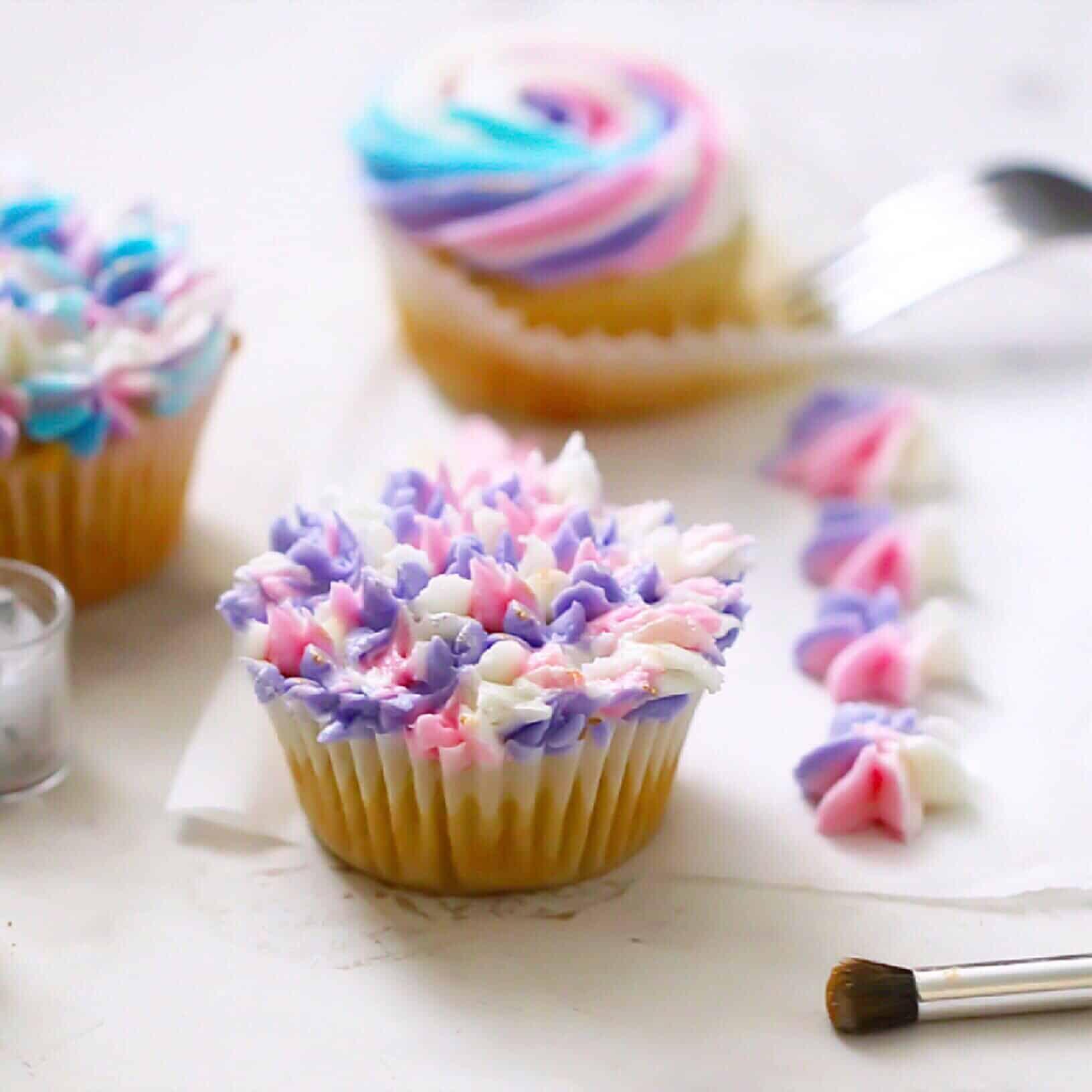 Grain-Free Vanilla Cupcakes