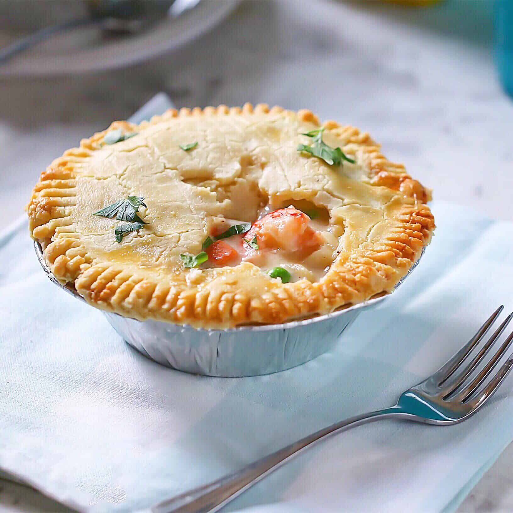 Grain-Free Seafood Pot Pie
