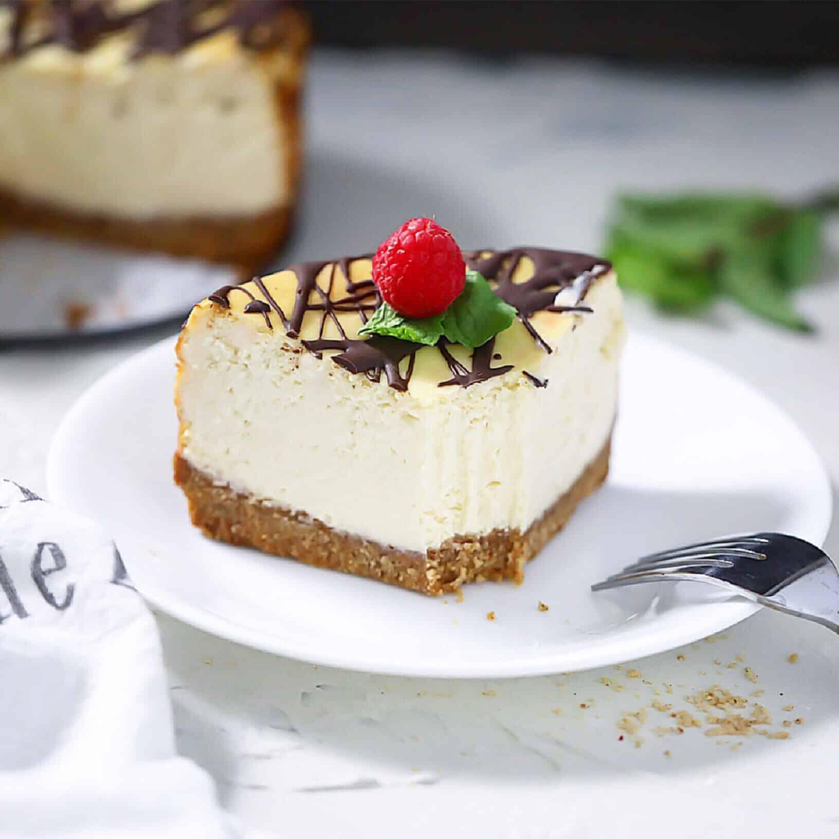 Grain-Free Classic Cheesecake