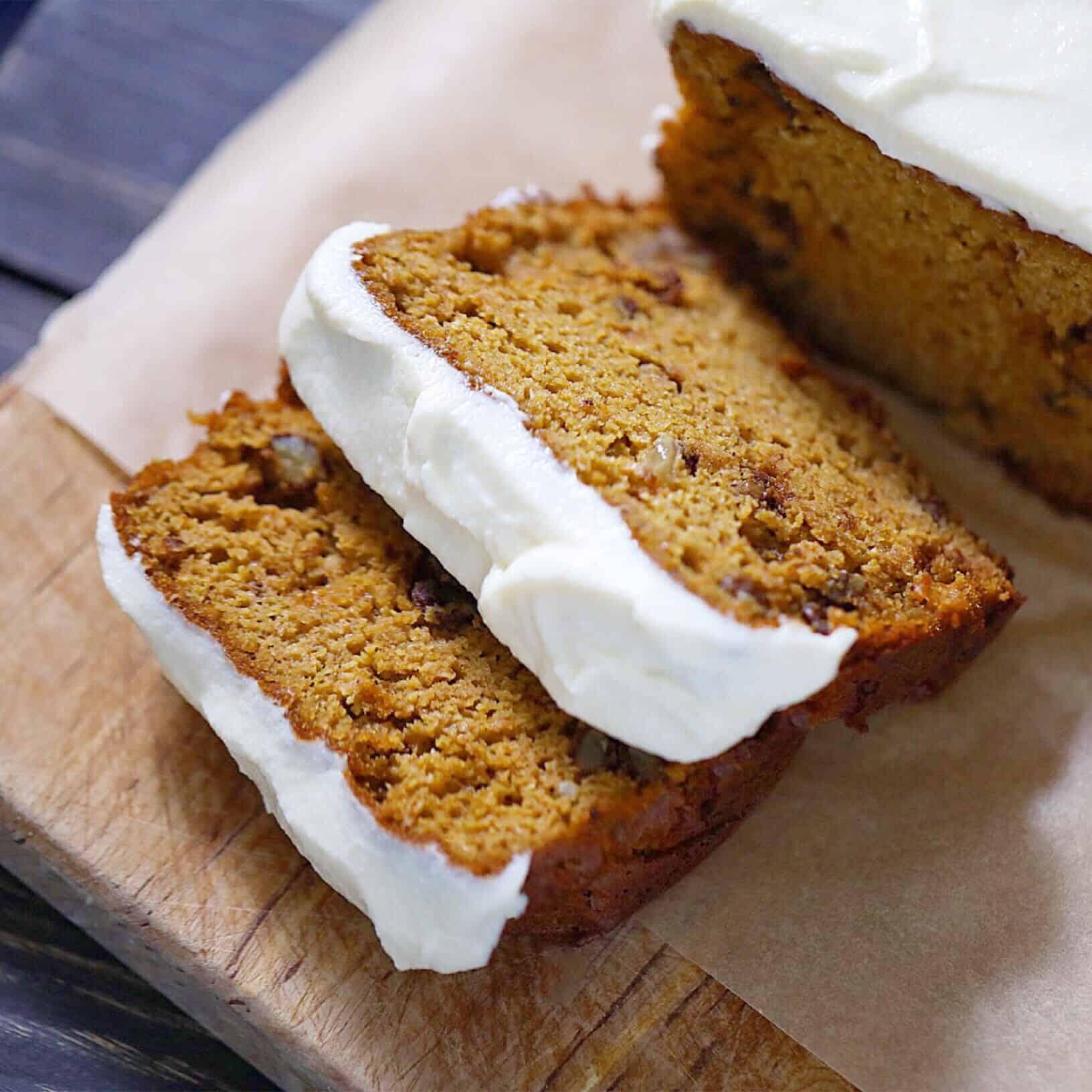 SCD Iced Pumpkin Bread/Muffins