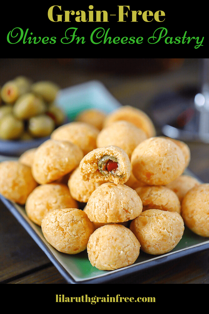 Easy Gluten-Free Cheddar Olive Ball Appetizer