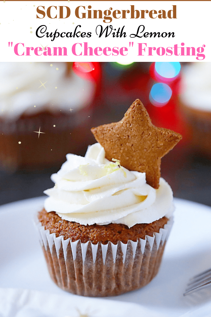 SCD Gingerbread Cupcakes