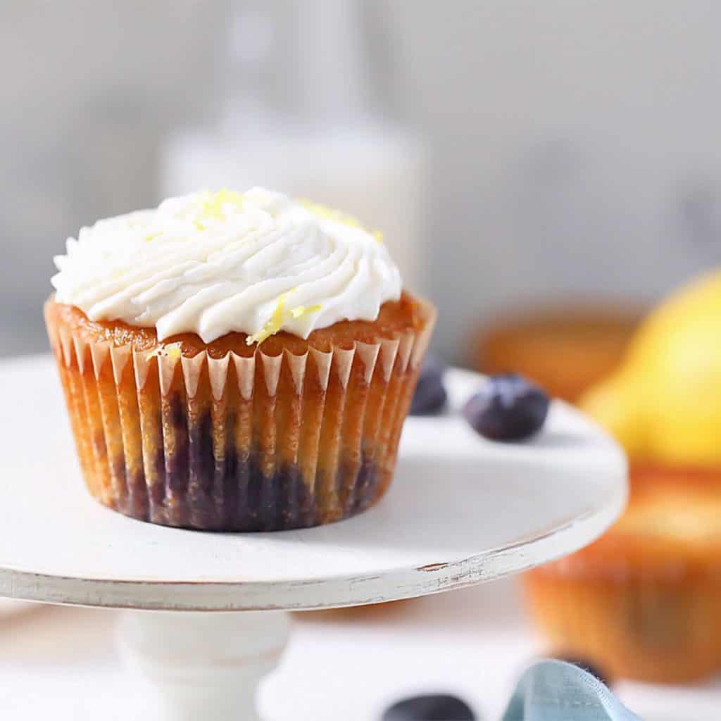 SCD Blueberry Lemon Muffins