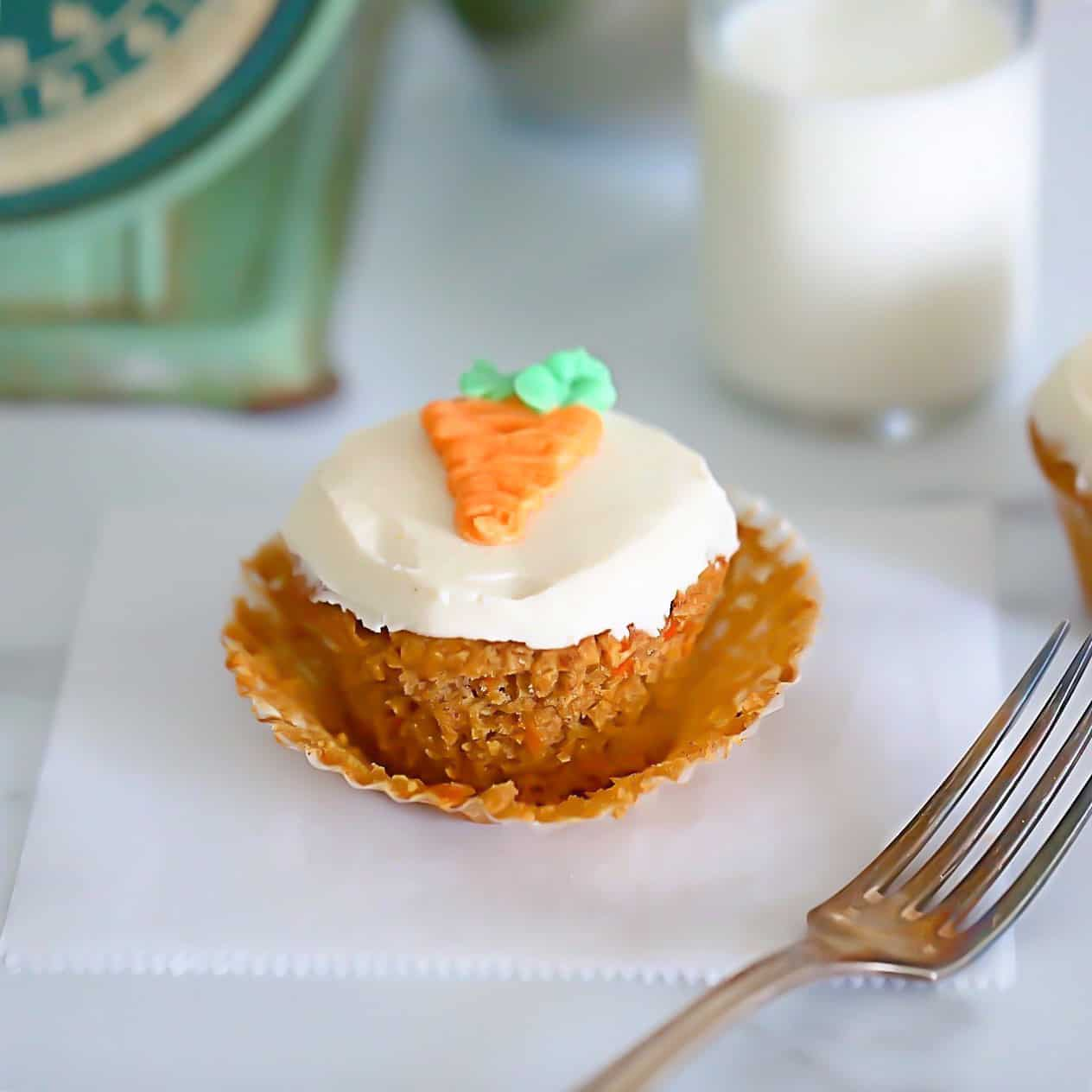 Keto Muffin with carrot