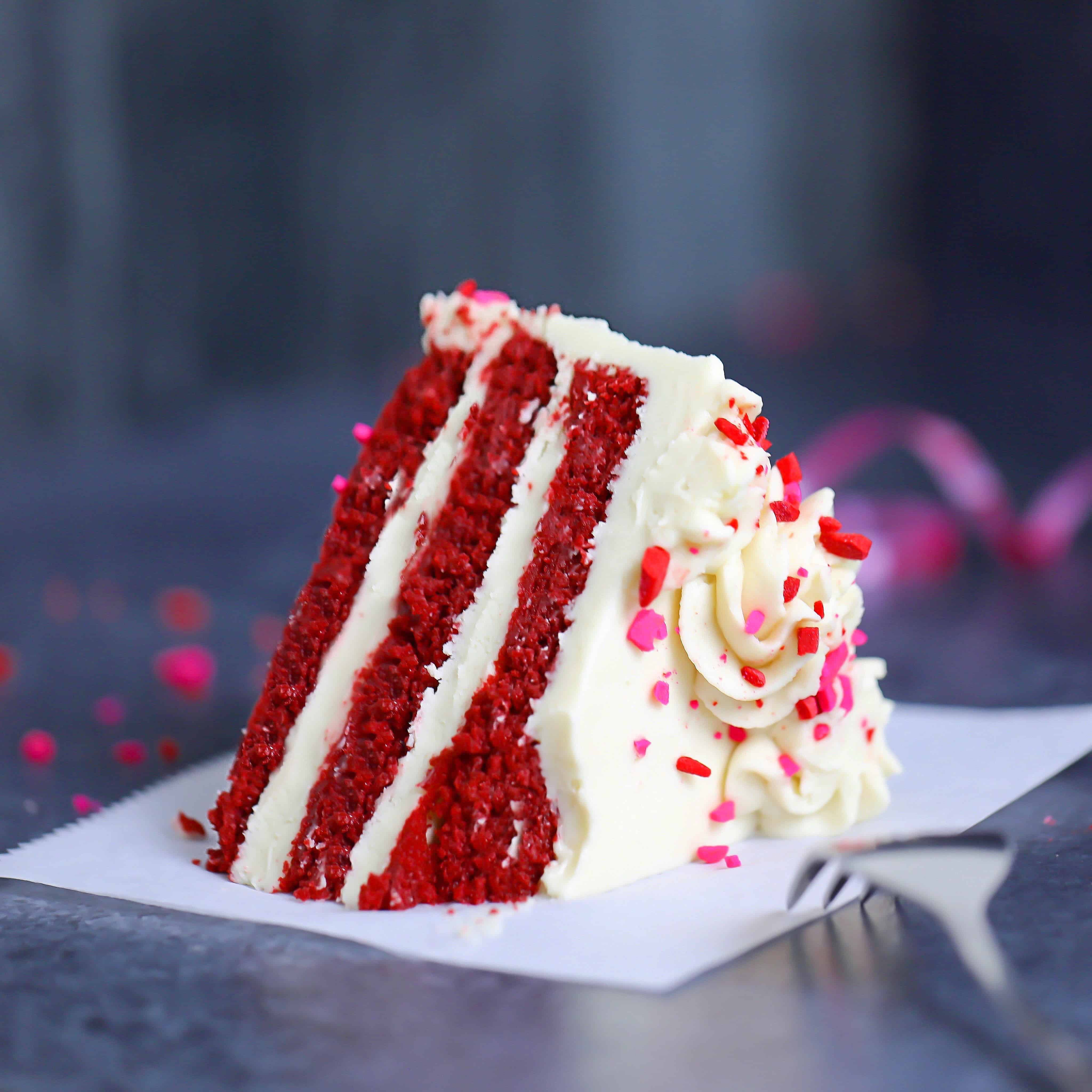 Low-Carb Red Velvet Cake/Cupcakes
