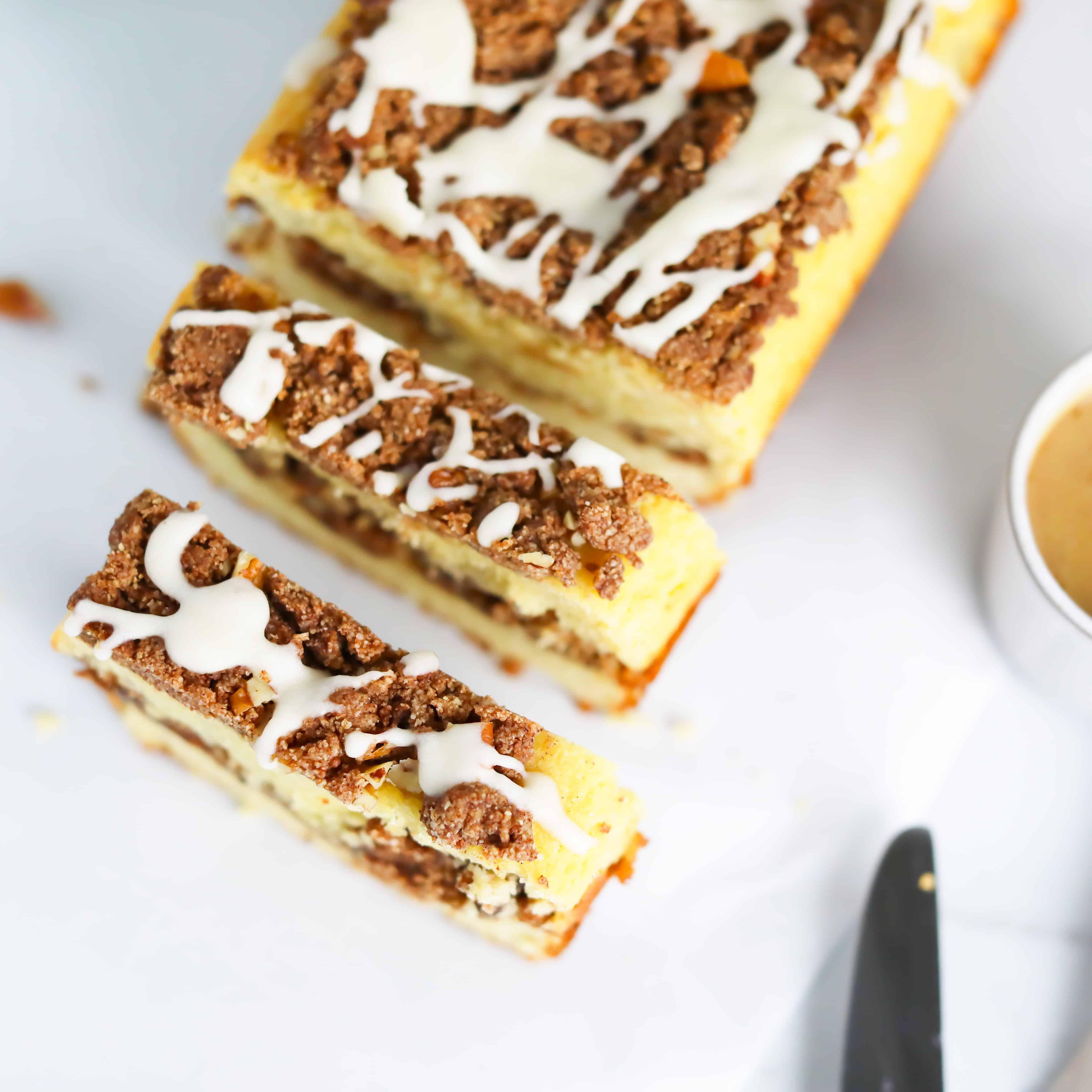 Keto Coffee Cake Bread