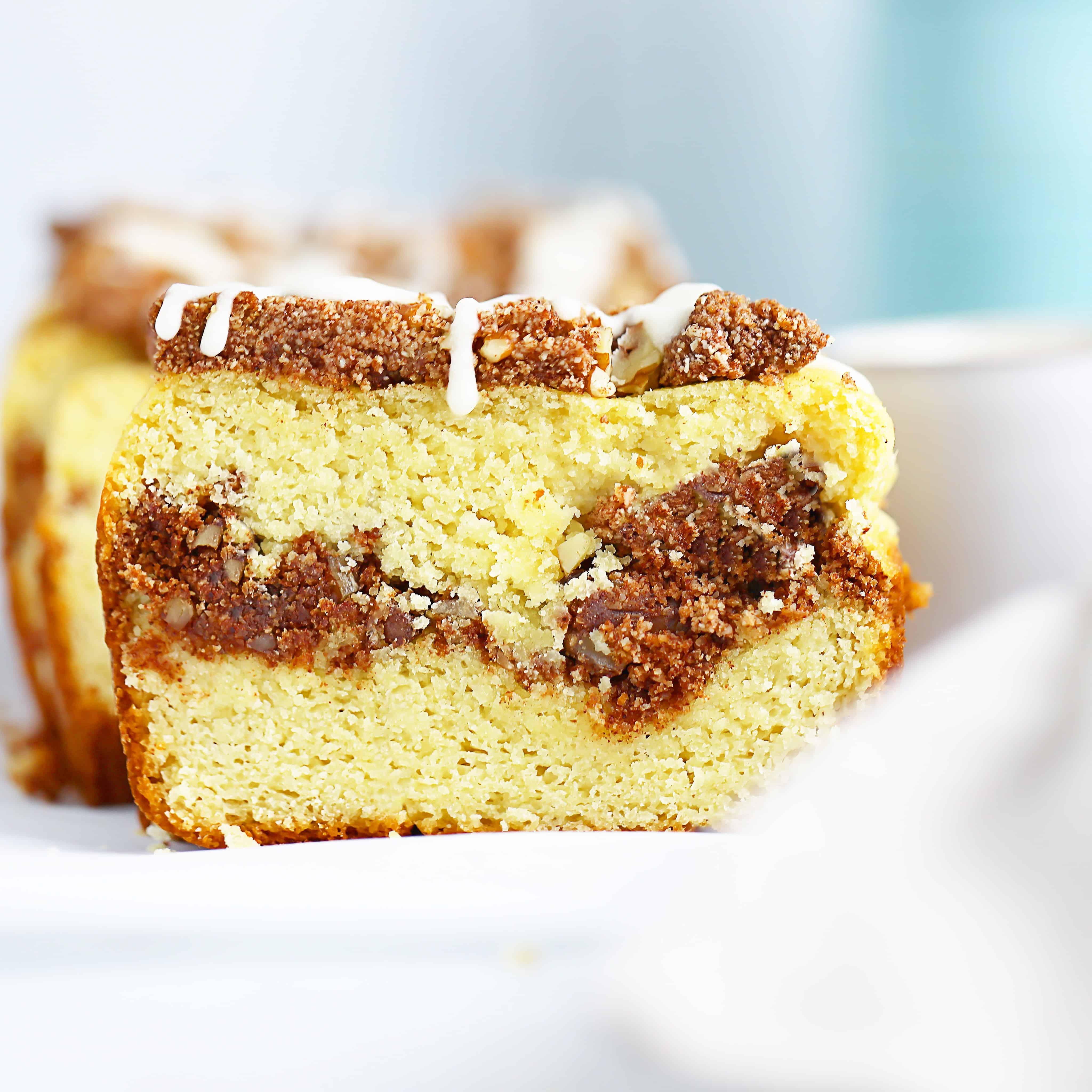 Coffee Cake Breakfast Bread