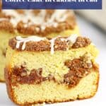 low carb coffee cake breakfast bread!
