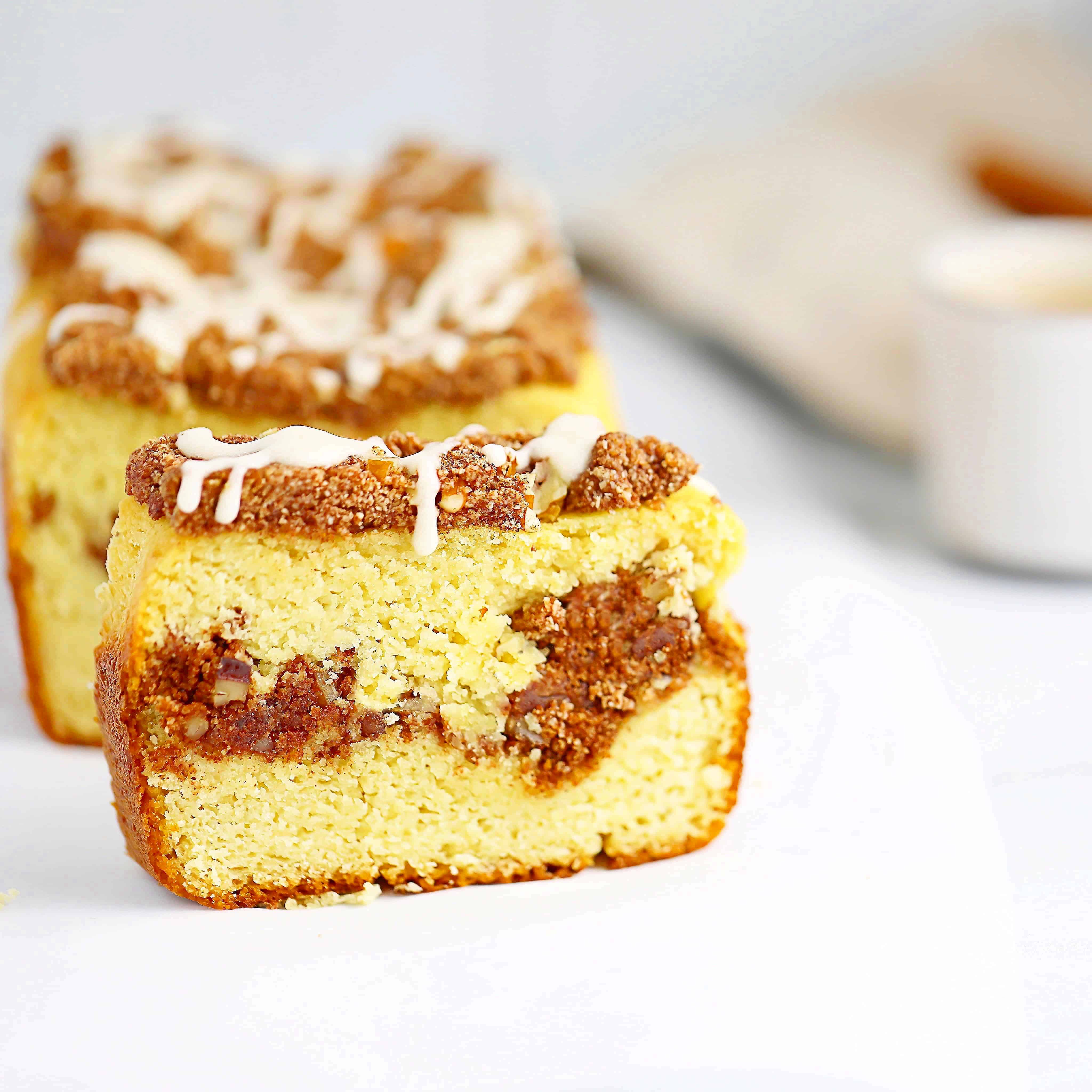 Low Carb Coffee Cake Breakfast Bread