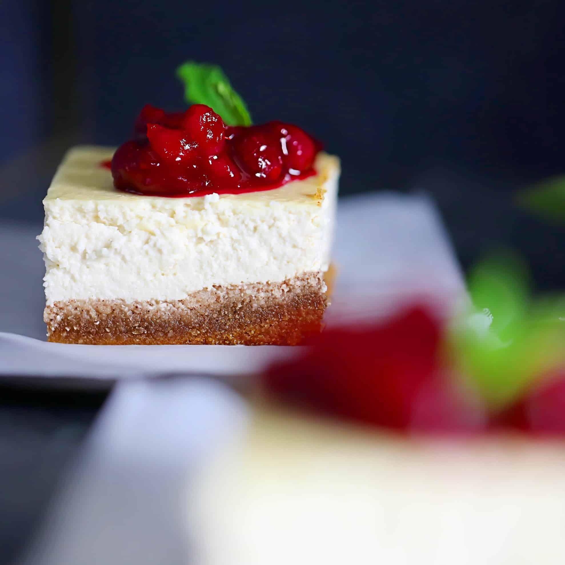 SCD Cheesecake Bars