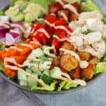 Crabmeat Cobb Dinner Salad