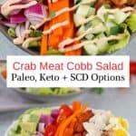 Crab Cobb Dinner Salad