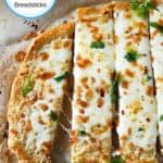 Breadsticks Grain-Free, Vegan option
