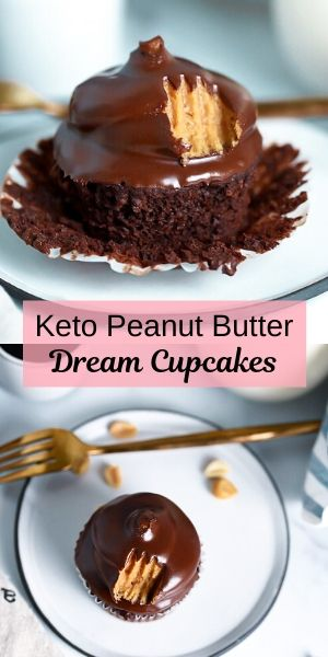 PB Dream Low-Carb Cupcakes