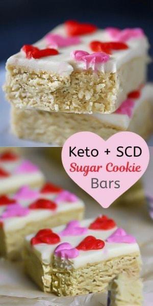 sugar cookie bar pin (keto, scd)