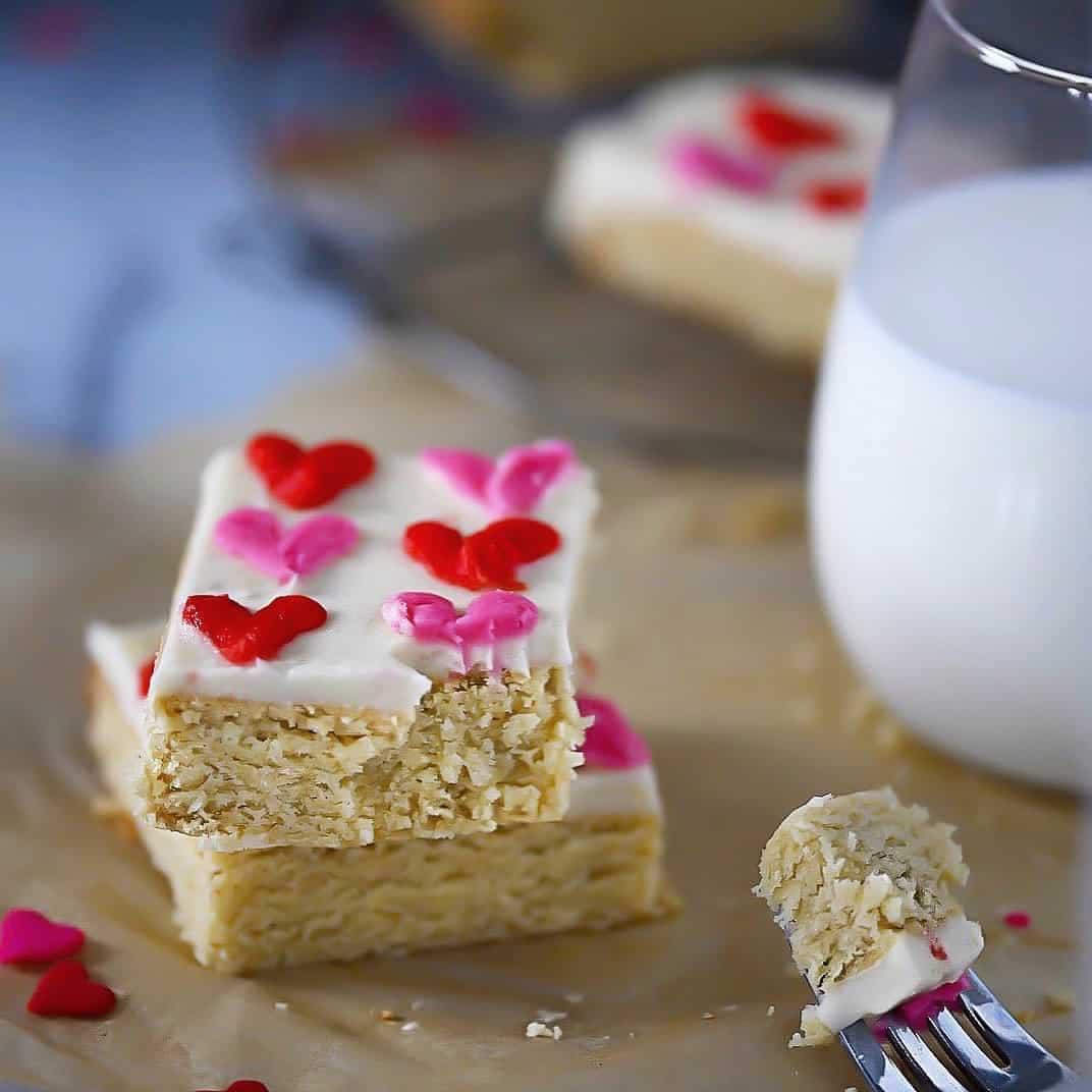 SCD + Keto Sugar Cookie Bar Photo