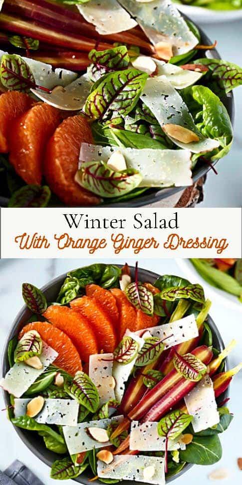 Winter Salad Pinterest Pin