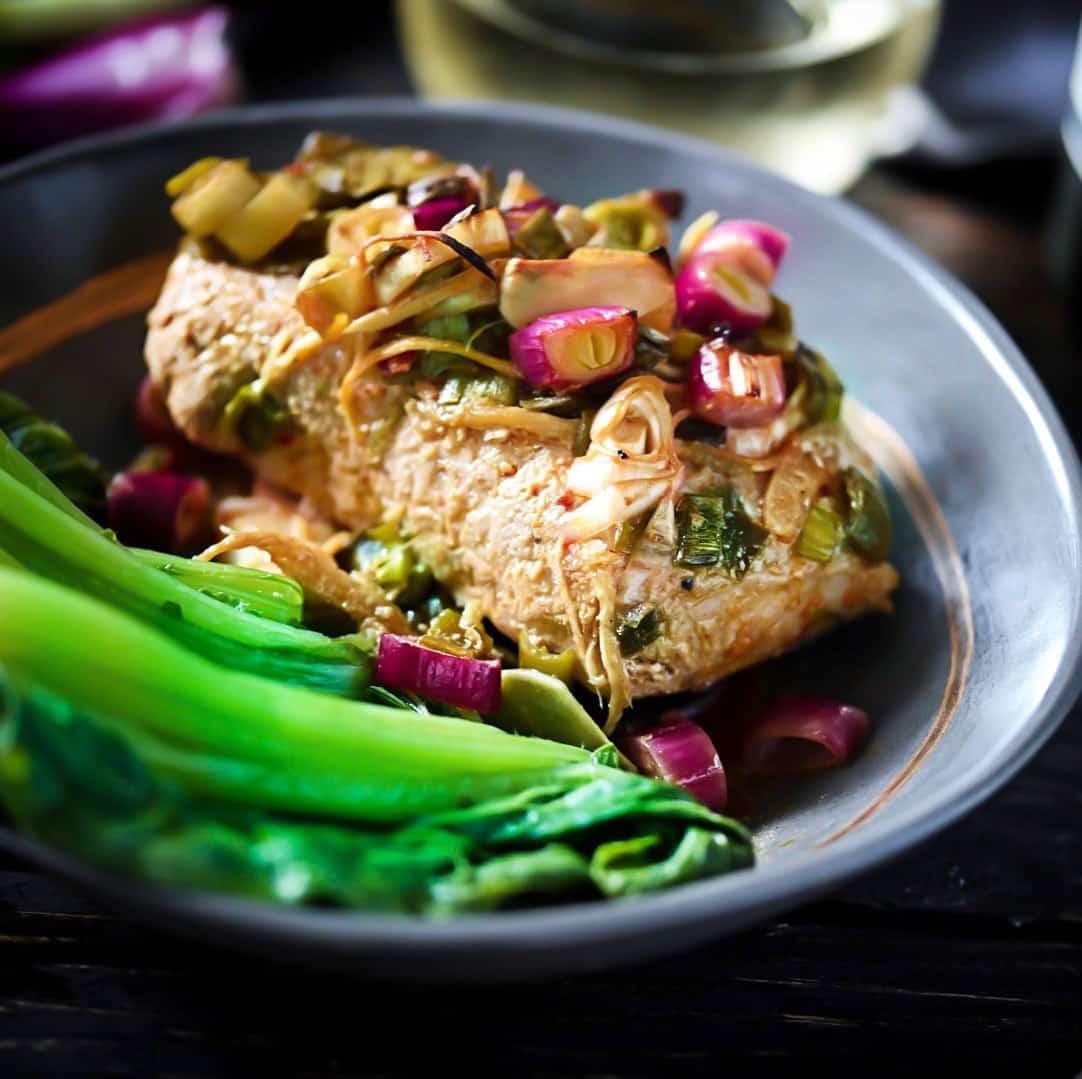 Roasted Pork With Veggies