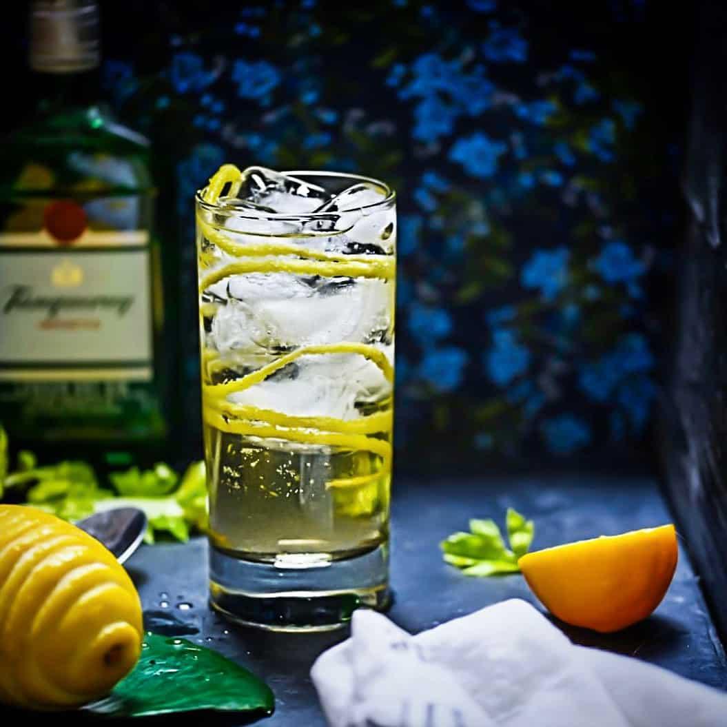 Celery Gin Rickey