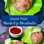 Pinterest Pin for Meatballs