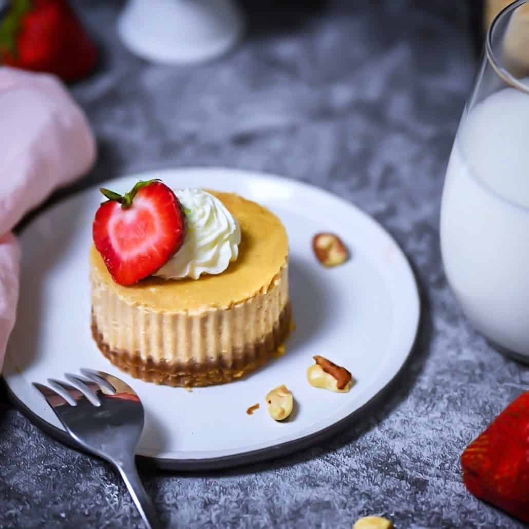 Grain-Free Peanut Butter Cheesecake