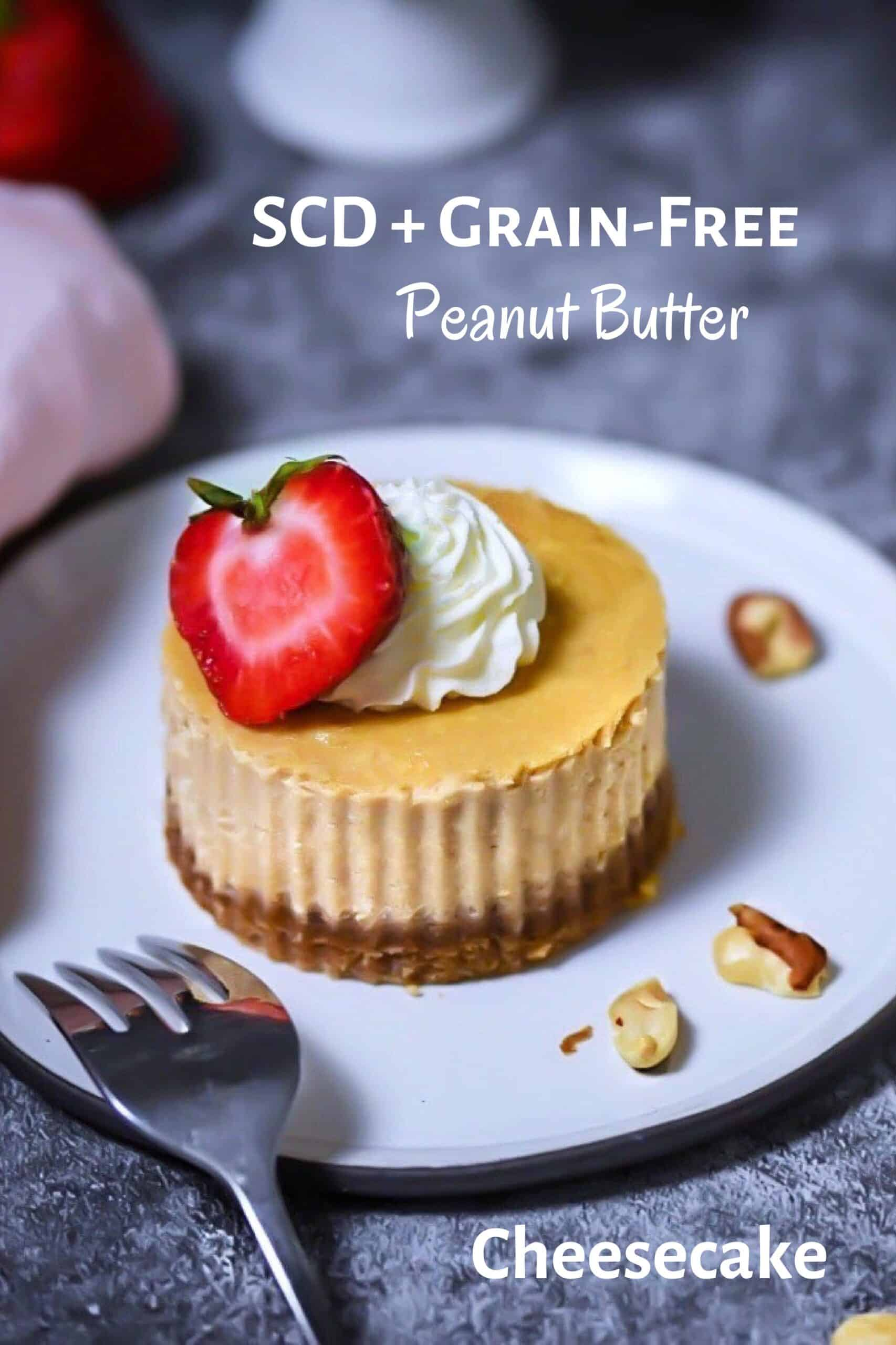 SCD Peanut Butter Cheesecakes