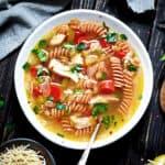 Chicken soup, gluten-free