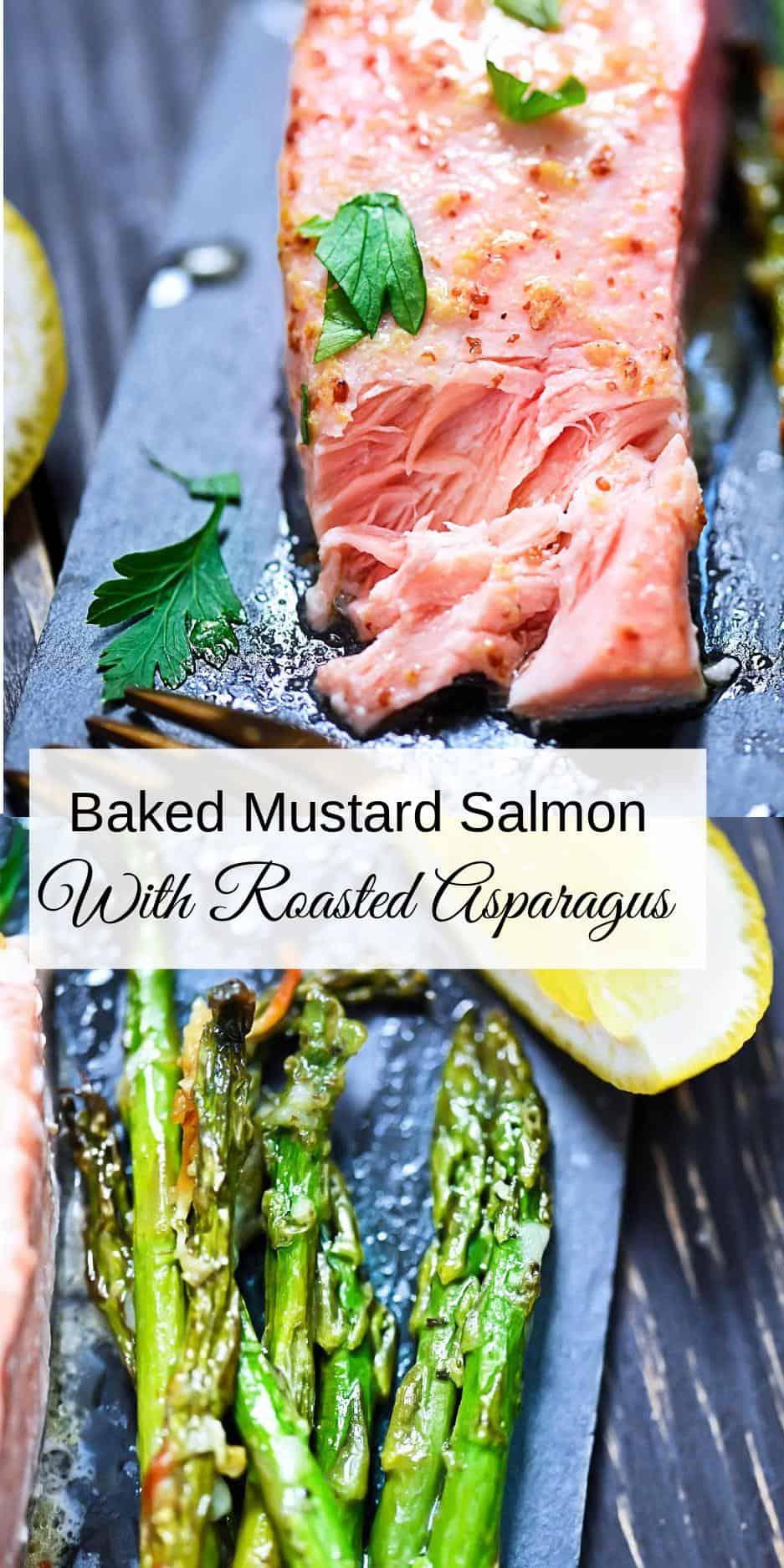 Salmon + Asparagus Pin