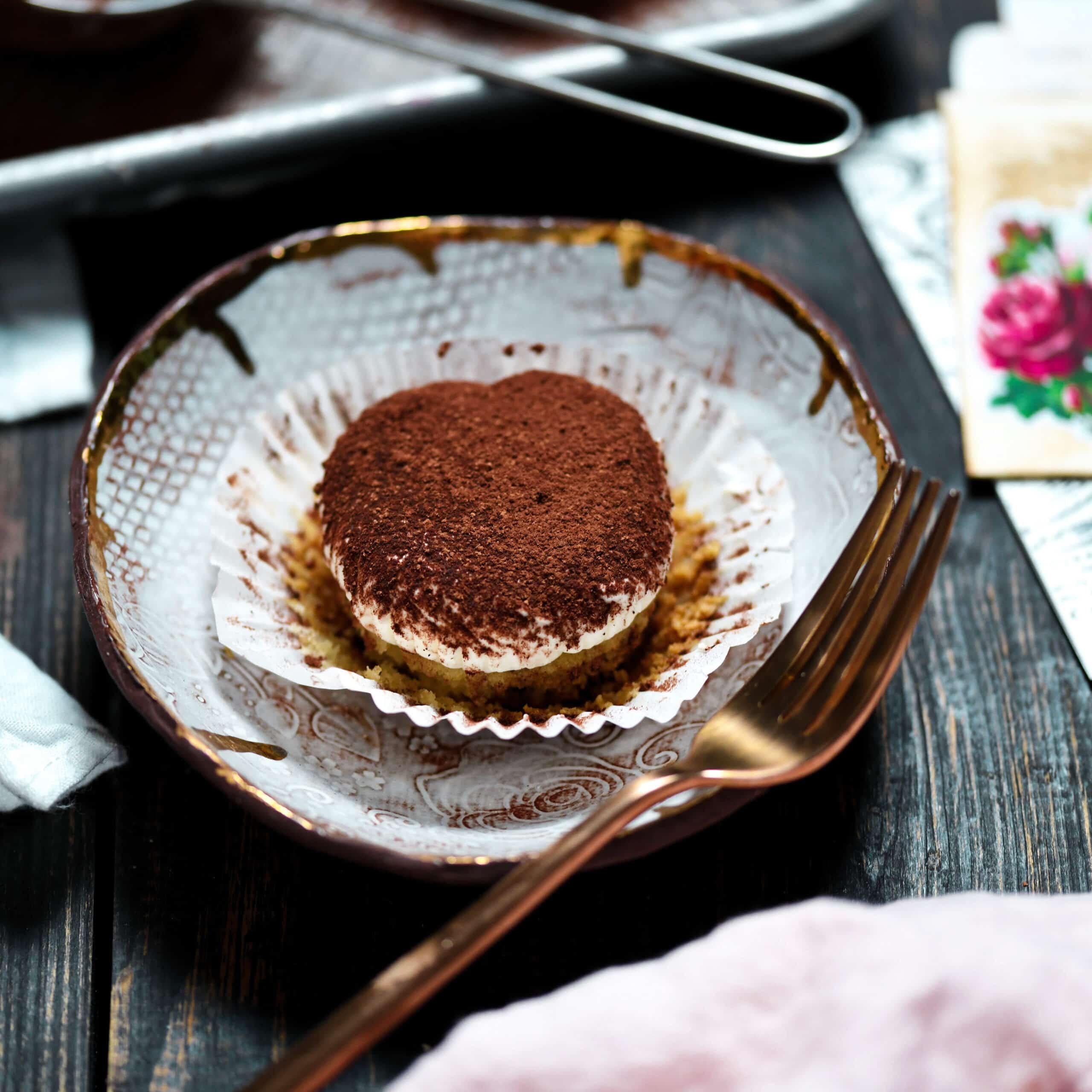 Gluten-Free, Sugarless Tiramisu