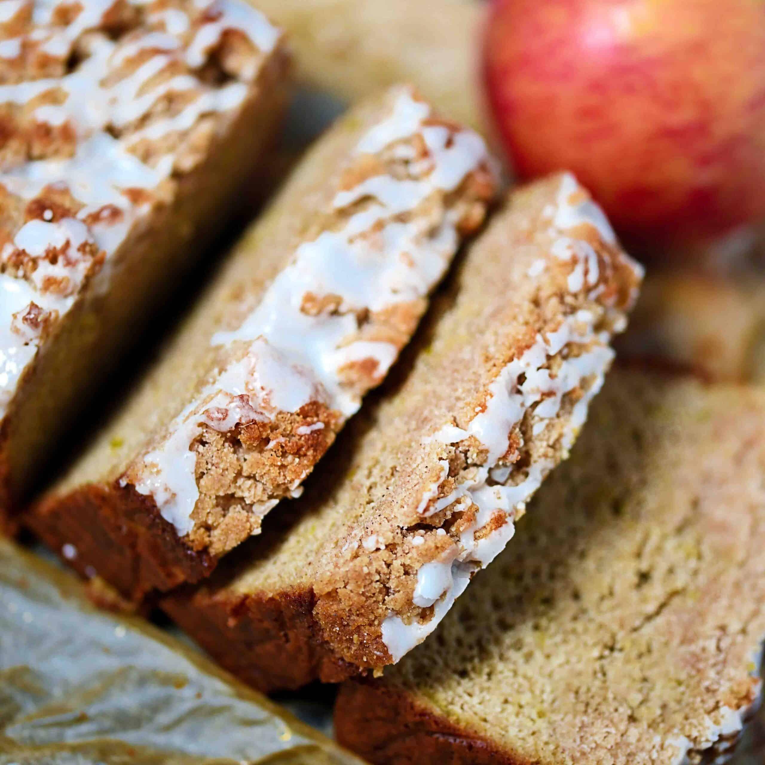 Gluten-Free Apple Crumble Bread