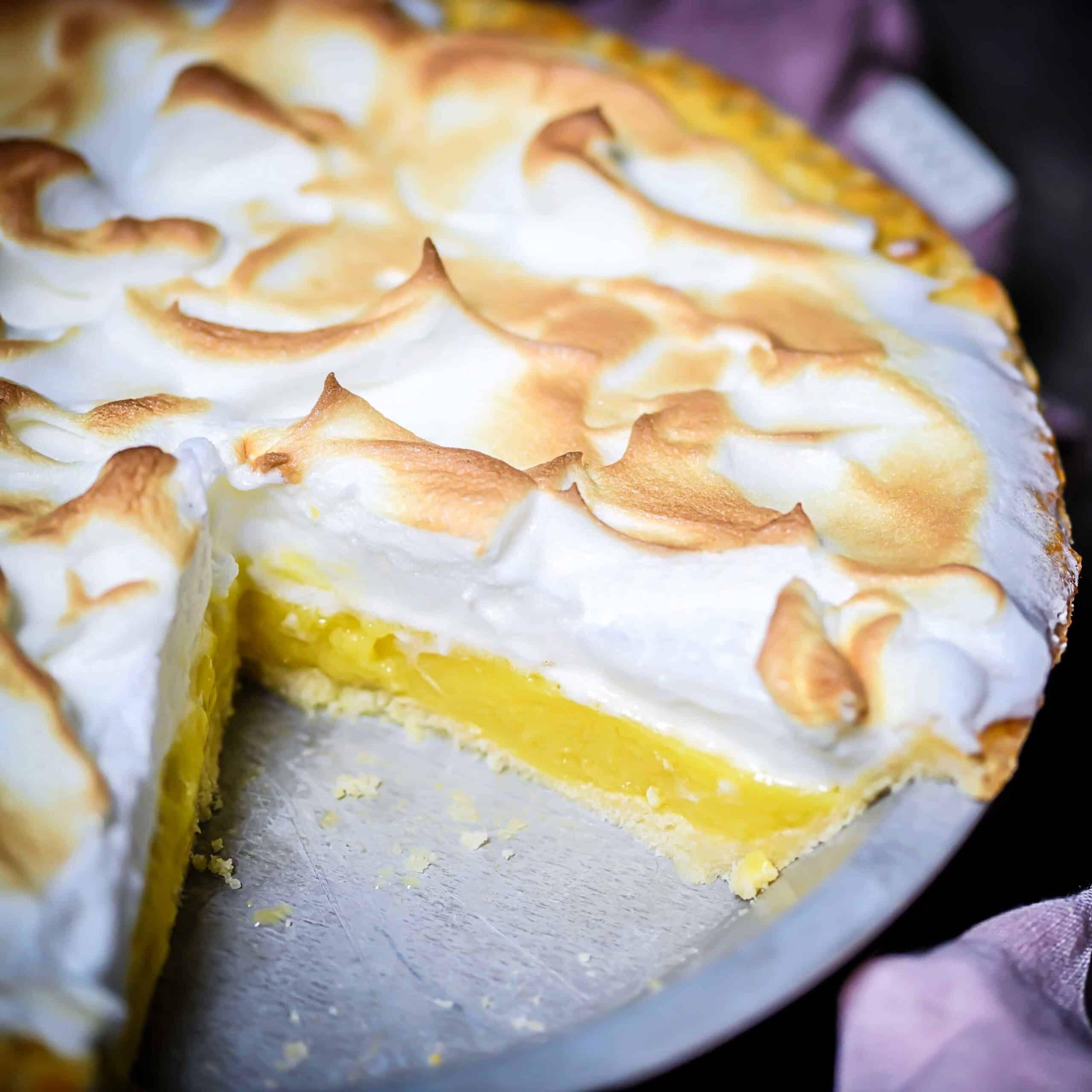 Lemon Meringue Pie gluten-free