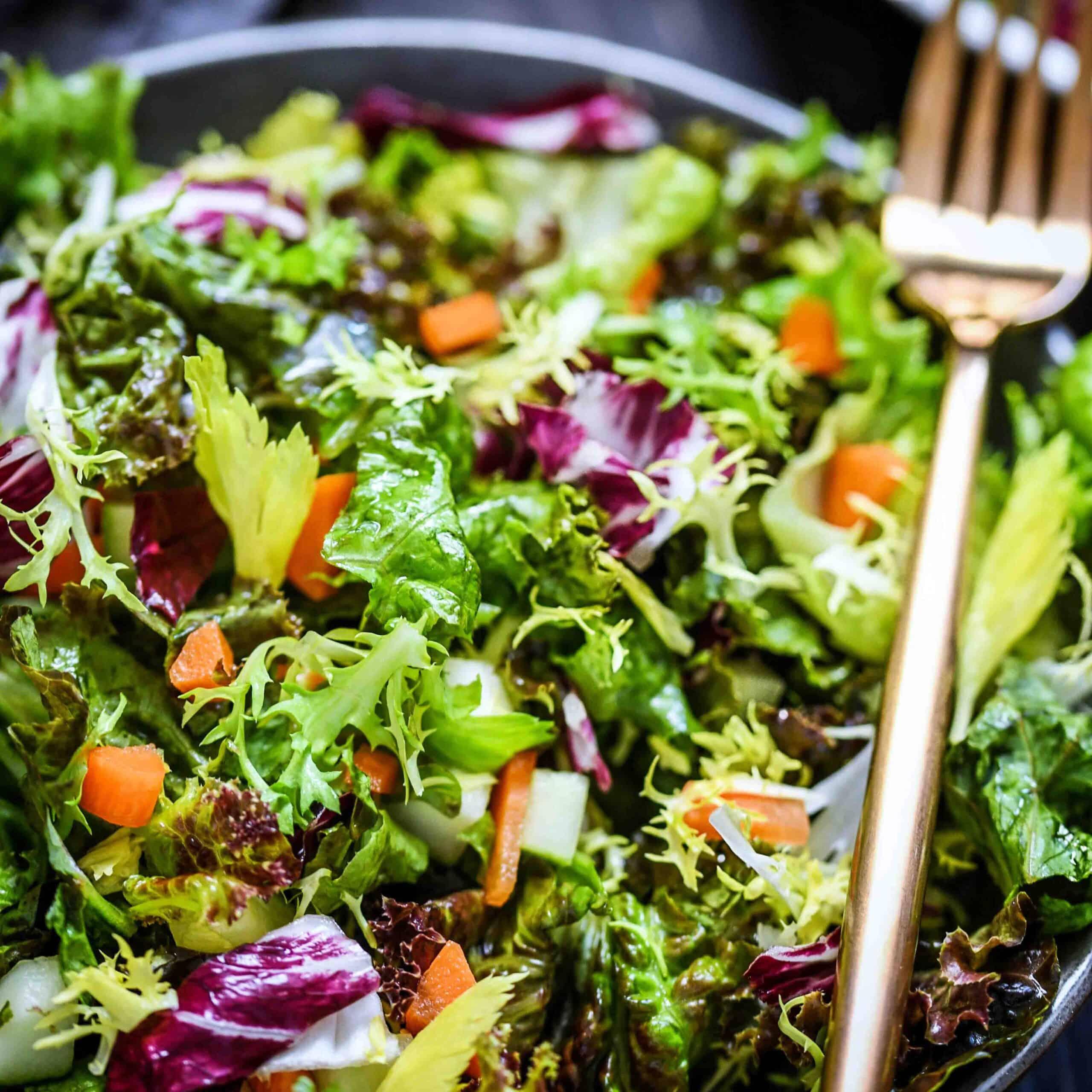 Closeup Of Whole30 salad
