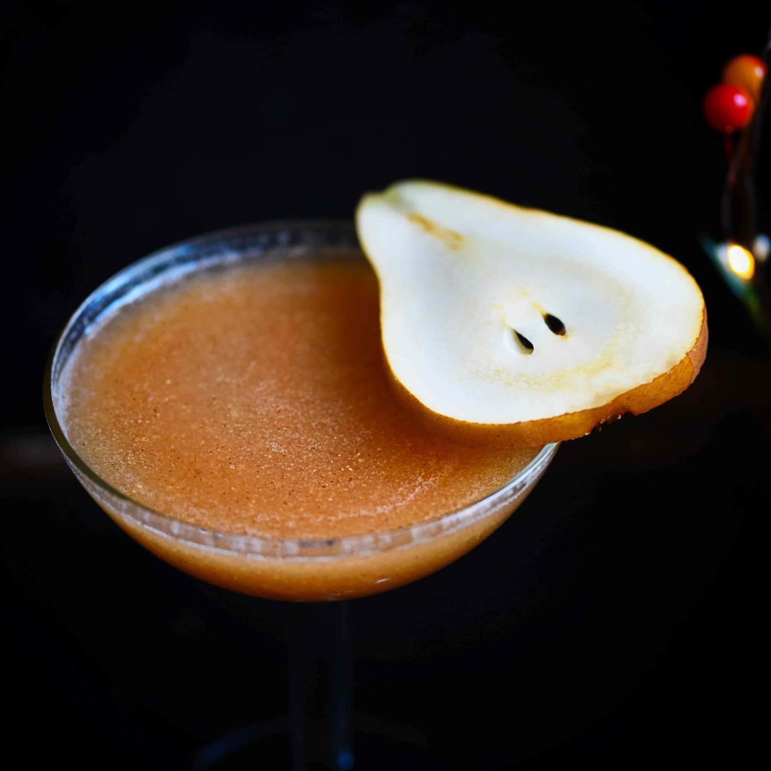 Gluten-Free Pear Cocktail