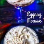 Keto Eggnog Mousse Pin, Grain-Free