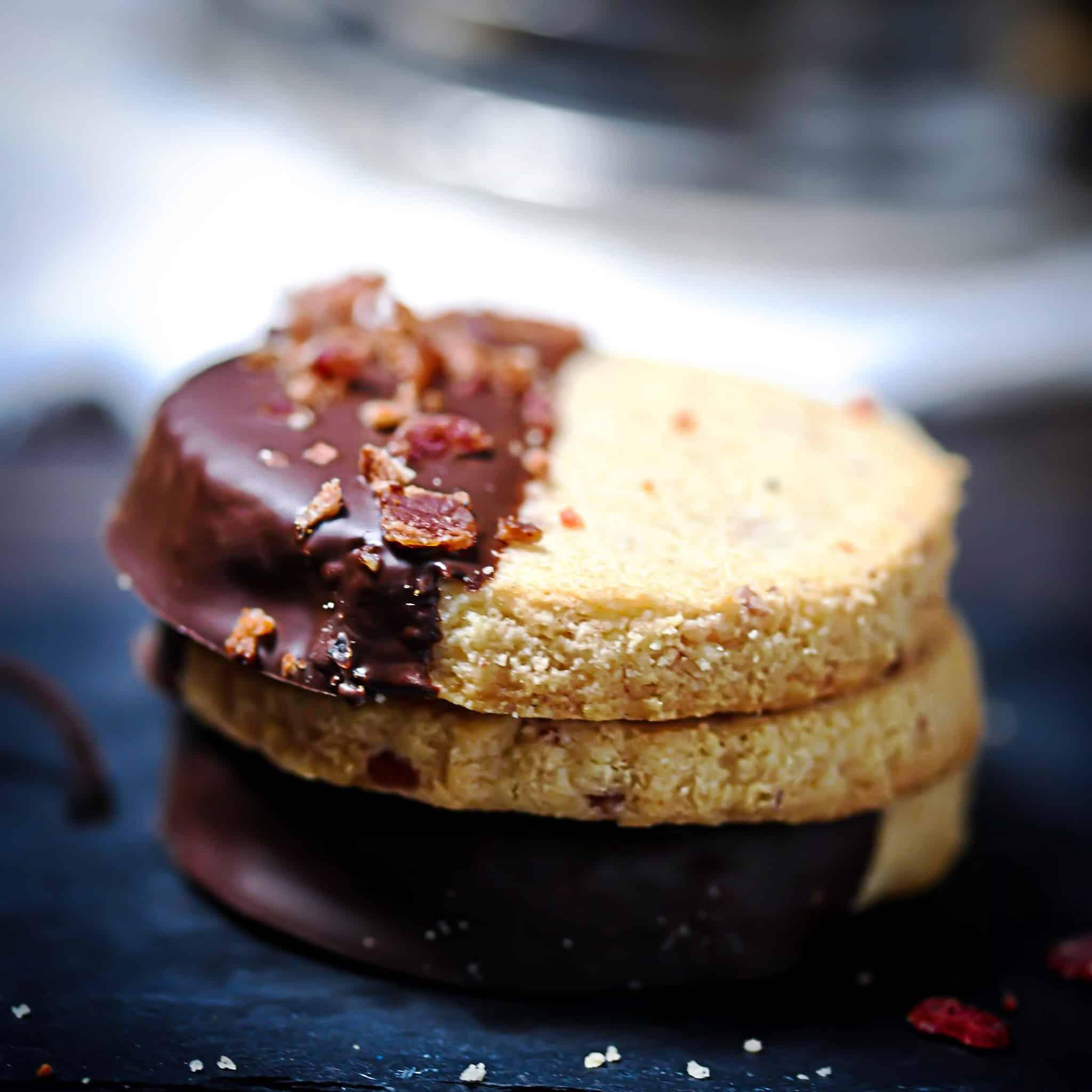 Chocolate Bacon Cookies Grainless