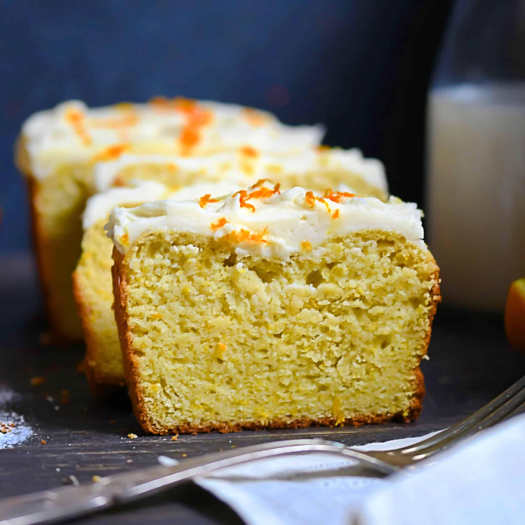 Low-Carb, Gluten-Free Orange Loaf