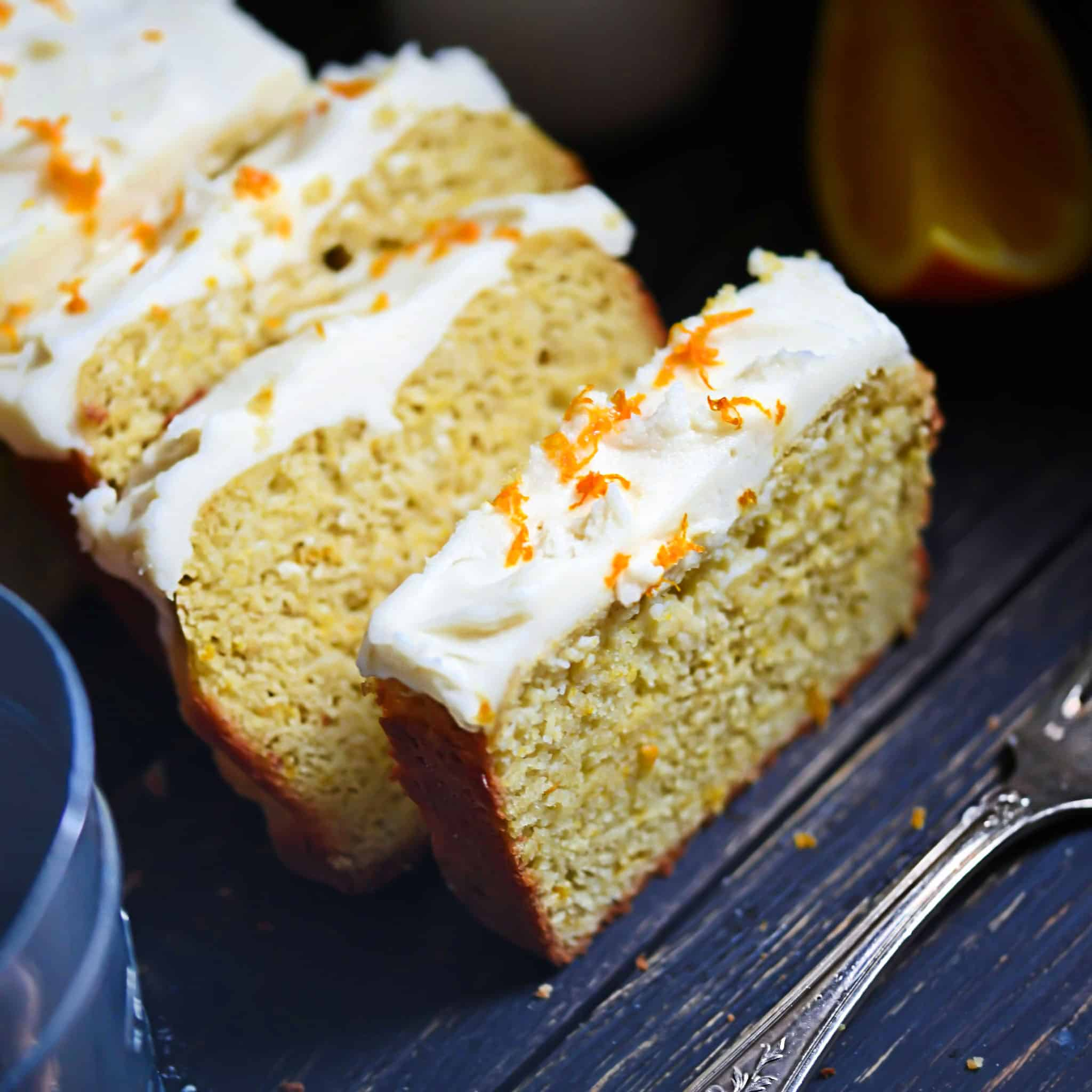 Grainless Citrus Breakfast Bread