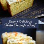 Dairy-Free Orange Cake Pin