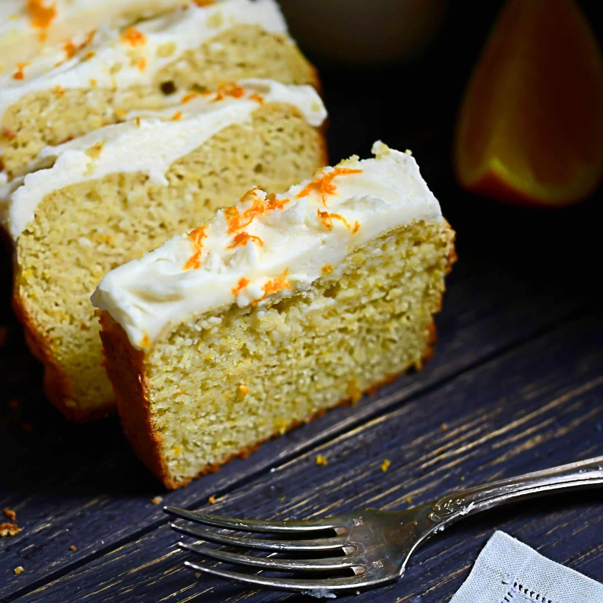 Keto Orange Loaf
