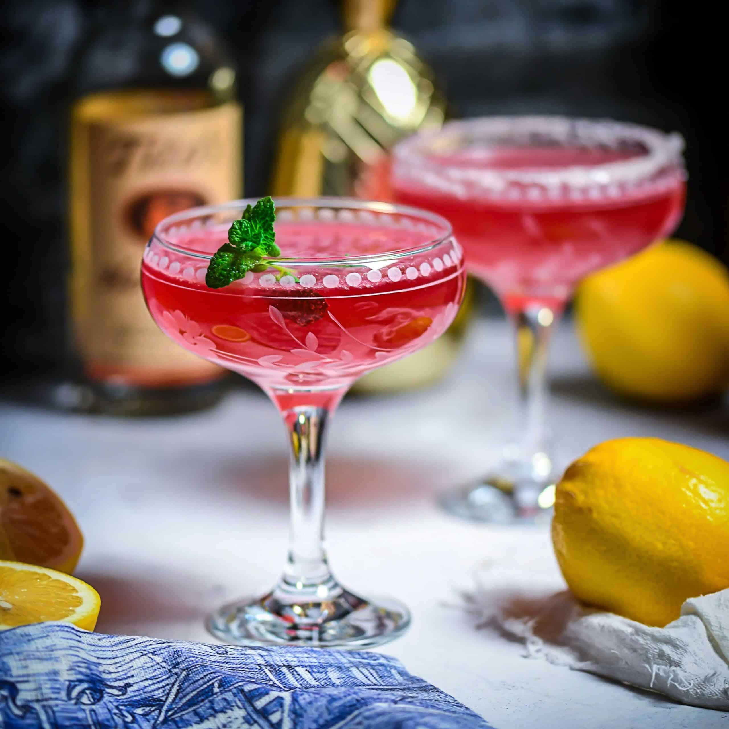 Cran-Citrus Fizz Honey Cocktail